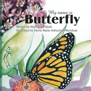 Book cover My Name is Butterfly