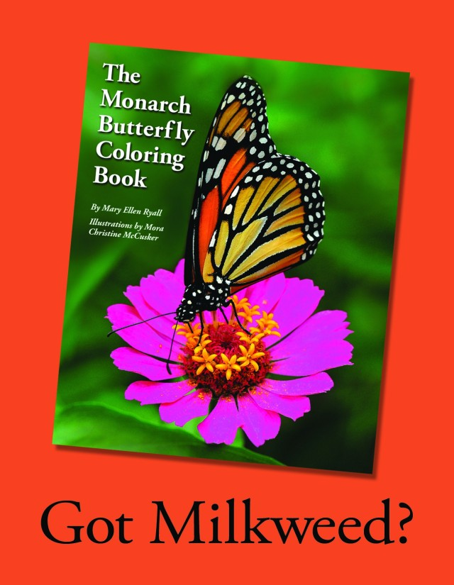 Cover of Monarch Butterfly Coloring Book