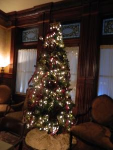 Christmas tree at Fay Club